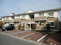 岡山県岡山市中区東川原丁目なしの賃貸アパートの外観