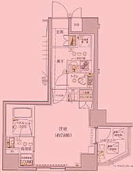 5/14 VERXEED綾瀬駅前 006[5階]の間取り