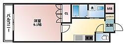 リヴェール福丸壱番館[1階]の間取り