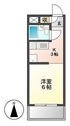 レジデンス茶屋ヶ坂[4階]の間取り