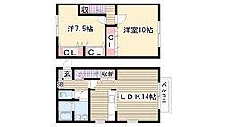 RSマ・メゾン加藤[103号室]の間取り