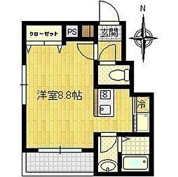 CEREZA都島[8階]の間取り
