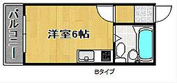 コットンライフMBS[3階]の間取り