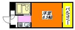 パウゼ・布施 603号室[6階]の間取り