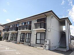 山形県山形市松見町の賃貸アパートの外観
