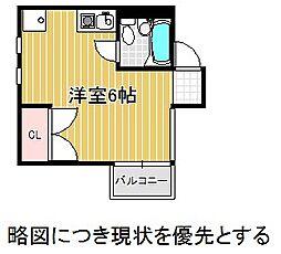 愛知県名古屋市千種区観月町2丁目の賃貸マンションの間取り