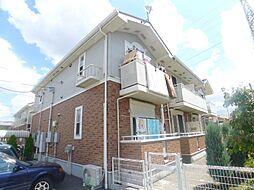 千葉県松戸市新松戸南3丁目の賃貸アパートの外観