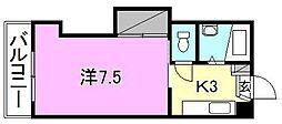 第40杉フラット[102 号室号室]の間取り