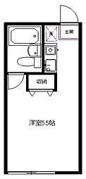 生田ベルデ[23号室号室]の間取り