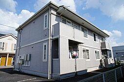 茨城県筑西市玉戸の賃貸アパートの外観