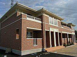 京都府木津川市市坂小谷口の賃貸アパートの外観