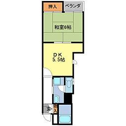 PAL京町[3階]の間取り