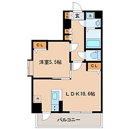 サンヴァーリオ仙台駅東[2階]の間取り