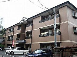 神奈川県横浜市青葉区千草台の賃貸マンションの外観