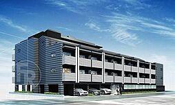 東京都大田区仲池上2丁目の賃貸マンションの外観