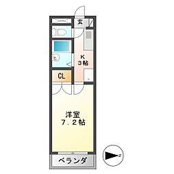 U・TOPIA 60[1階]の間取り