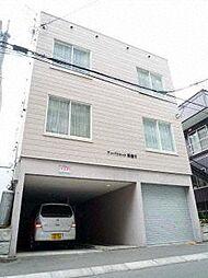 北海道札幌市白石区本郷通8丁目南の賃貸アパートの外観