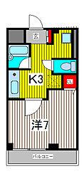 コーポフタバ[1階]の間取り