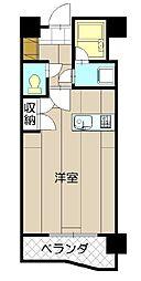 サンラビール小倉[5階]の間取り
