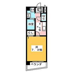 NEW PLACE[2階]の間取り