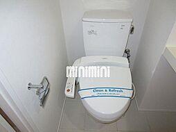 グラン・アベニュー西大須のウォシュレット付きのトイレ