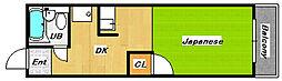 第二シャルマン四條畷[2階]の間取り