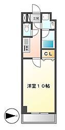 ロージュサクラ[5階]の間取り