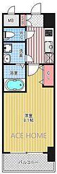 レオンコンフォート本町東I[1504号室号室]の間取り