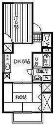 戸田エントピア[2階]の間取り
