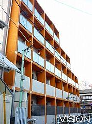 東京都板橋区常盤台3丁目の賃貸マンションの外観