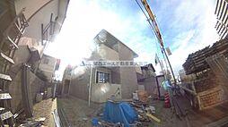 大阪府東大阪市高井田の賃貸アパートの外観