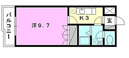 プランドール・カネキA棟[210 号室号室]の間取り