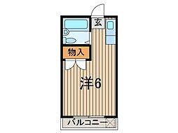 ロジマン蕨II[3階]の間取り