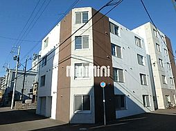 es東札幌[3階]の外観