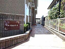 愛知県北名古屋市薬師寺樋口の賃貸アパートの外観