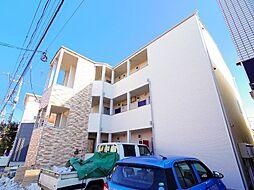 埼玉県ふじみ野市鶴ケ舞2丁目の賃貸アパートの外観