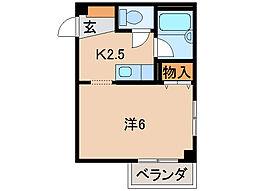 レスペート西庄I[2階]の間取り