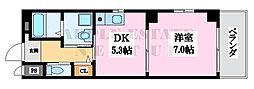 ファンライフ小阪(はなまるコート小阪)[2階]の間取り