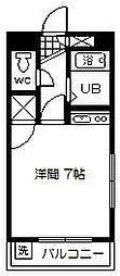 神宮ステーションビル[501号室]の間取り