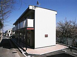 神奈川県横浜市緑区上山2丁目の賃貸アパートの外観