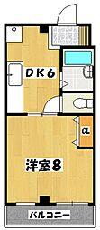 あけぼのSSビル[2階]の間取り