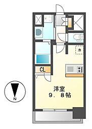 プレサンス大須プライマル[6階]の間取り