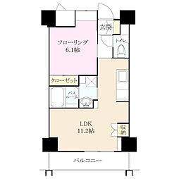 クラシオン小笹山手 3番館[6階]の間取り