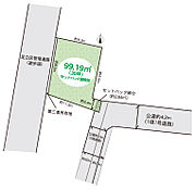 東武伊勢崎線「梅島」駅徒歩15分土地99.19(建築条件なし。公道東2.9m、更地渡し)子育て環境良好閑静な住宅街。是非、お問合せください。