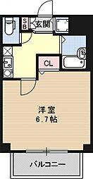 プレサンス京都東山City Life[303号室号室]の間取り