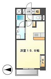 グラヴィス鶴舞[5階]の間取り