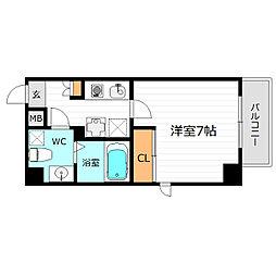ラ・フォーレ東野田[5階]の間取り