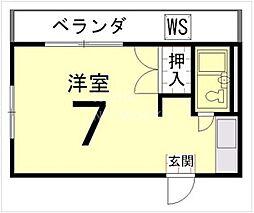 バルーンクラブ2[2F号室号室]の間取り