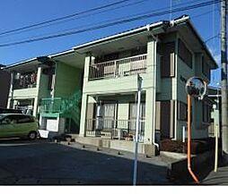 栃木県宇都宮市緑5丁目の賃貸アパートの外観