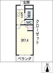 ウイングIII[3階]の間取り